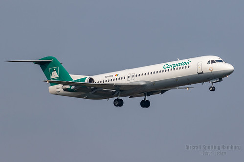 Carpatair Fokker 100 YR-FKA