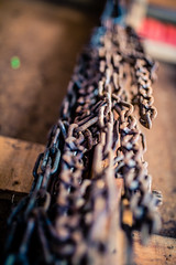 Chained (rg69olds) Tags: 07042018 35mm 4thofjuly 5dmk4 canoneos5dmarkiv nebraska sigma35mmf14artdghsm canon garage grilling omaha sigma chain rusty chained hanging 35mmf14dghsm|a