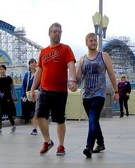 DSCN7772 (danimaniacs) Tags: disneyland gay couple californiaadventure hot sexy man guy beard scruff tanktop