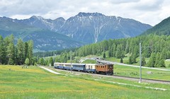 RhB Ge4/6 Locomotive_353_Pontresina, Switzerland_090618_01 (DS 90008) Tags: rhb 353 moutains ge46 train rollingstock railway swizterland