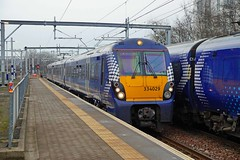 SPRINGBURN 130215 334029 (SIMON A W BEESTON) Tags: springburn scotrail 334029 2v62