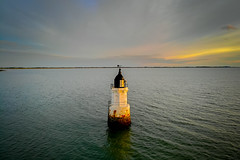 Plover Scar (Joe Hayhurst) Tags: dji drone mavic lighthouse ploverscar lancashire