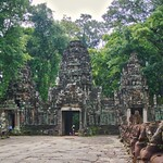 Entrance to Preah Khan temple in Angkor Archeological Park near Siem Reap, Cambodia thumbnail