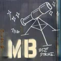 B52F Strike 7/16 (rabidscottsman) Tags: scotthendersonphotography mb mn minnesota northfieldminnesota ricecountyminnesota rr train boxcar telescope stars space b52 tripod b52stratofortress b52f railroadgraffiti moniker railroadmoniker graffiti rust corrosion bench benched benching fr8 saturday weekend nikon nikond7100 tamron tamron18270 18270