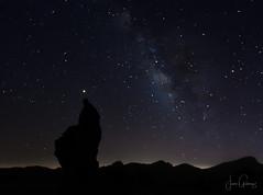 Mars and the Milky Way (gjaviergutierrezb) Tags: milky way mars planets stars night