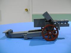 DSC00688 (TekBrick) Tags: custom lego ww1 german canon skoda model m14