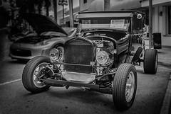 Ford Model T 1927 (Pedro1742) Tags: blackandwhite wheels classic