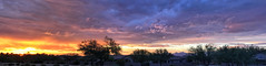 Monsoonal Fire Sunset (northern_nights) Tags: sunset pano panorama firesky monsoon vail arizona