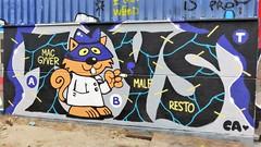 Toy / BIY - 8 aug 2018 (Ferdinand 'Ferre' Feys) Tags: gent ghent gand belgium belgique belgië streetart artdelarue graffitiart graffiti graff urbanart urbanarte arteurbano ferdinandfeys