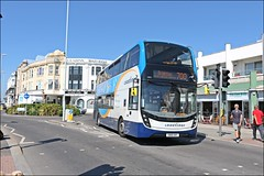 Stagecoach SN18KNY 10957 (2) (welshpete2007) Tags: stagecoach adl e40d mmc sn18kny 10957
