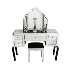 mf3019_set_1 (casachoice) Tags: casa choice table crystal ornament wall mirror lamp white gold horse mosaic vase candle holder dressing aluminium fire place set bronze plated metal decorative clock black jewellery box crushed glass stand french chaise tv console skull ceramic floating mirrored clear cruved 3 drawer bedside victorian style ornate