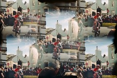 Peel Day - TT (iampaulrus) Tags: paulfargherphotography paulfargher 35mm 35mmfilmphotography film35mm analogue analog colour color lomography lomo pop9 pop9modified peelday ttweek stuntbike multipleexposure multilens doubleexposure isleofman