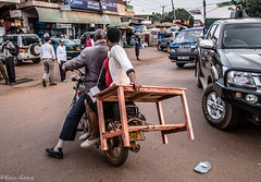 Who needs a car?! (jamganz) Tags: entebbe uganda