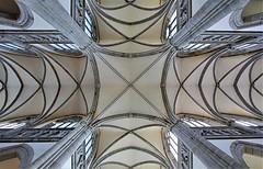 Eglise Notre-Dame-des-Champs - Avranches (hervétherry) Tags: france normandie bassenormandie manche avranches canon eos 7d efs 1022 église notredamedeschamps nef choeur transept voute arche