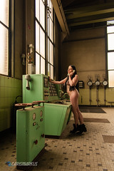 IMGP5416 (Carismarkus) Tags: abandonedplace beautyindecay industry lostplace lyssa powerplantpeppermint urbanexploration female industrial nude sensual woman