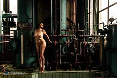 IMGP5467 (Carismarkus) Tags: abandonedplace beautyindecay industry lostplace lyssa powerplantpeppermint urbanexploration female industrial nude sensual woman