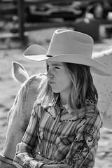 Second place face (autoworks31) Tags: streetphotographer streetphotography girlscandoittoo xpro1 fujifilm horseshow horseback horses horse cowboyhat secondplace cowboy cowgirl
