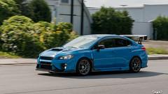 IMG_2268 (PedoJim) Tags: subaru wrx sti varis blue ivy nextmod turbo ej25 wing racecar lachute quebec montreal brembro bakemono track car