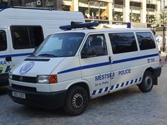 "Volkswagen Transporter ""Městská policie"" (harry_nl) Tags: česko czechia 2018 praha prague volkswagen transporter městská policie"