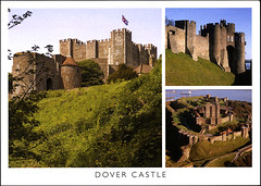 postcard - from Frewen, Germany (Jassy-50) Tags: postcard postcrossing castle dovercastle dover england greatbritain uk multiview