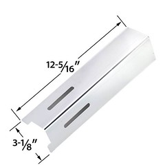 REPLACEMENT-STAINLESS-HEAT-PLATE-FOR-BBQ-GRILLWARE-GSF2616-LIFE@HOME-GSF2616J-UNIFLAME-NSG4303-PATRIOT-GAS-GRILL-MODELS (grillpartszone) Tags: stainless steel heat plate bbq grillware