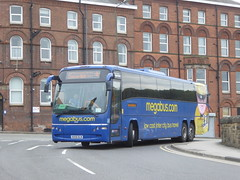 Stagecoach Yorkshire 54059 KX59 DLN on Rail Replacement, Crow Ln, Chesterfield (sambuses) Tags: stagecoachyorkshire 54059 kx59dln megabuscom railreplacement