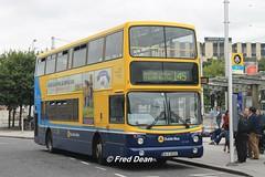 Dublin Bus AX526 (06D30526). (Fred Dean Jnr) Tags: dublin september2014 busathacliath dublinbus dbrook dublinbusyellowbluelivery volvo b7tl alexander alx400 dublinbusroute145 transbus ax526 06d30526 heustonstationdublin