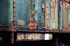 Blue (Strange Artifact) Tags: olympus penf 45mm 18 mzuiko captureonepro112 trains rust abandoned decay derelict hombourg belgium