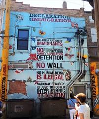 Declaration of Immigration (Brule Laker) Tags: chicago illinois pilsen caf chicagoarchitecturefoundation walkpilsen art murals