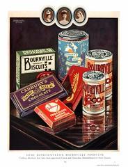 Cadbury's Bournville Products 1931 (sadiron16) Tags: cadbury chocolate cocoa bourneville dairymilk lawrencestone
