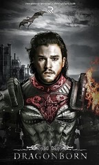 King Jon of Houses Targaryen/Stark (Game of Thrones Arts) Tags: game thrones