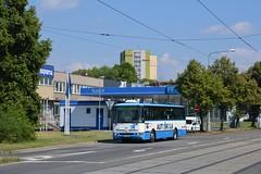 Karosa B952E.1718 #9213 (LukaszL99) Tags: karosa b952e b952e1718 dp ostrava ostrawa czechy czechia tschechien bus autobus fahrschule nauka jazdy