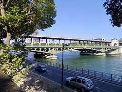 Pont de Bir-Hakeim[2016] (gang_m) Tags: ロケ地 filminglocation ラストタンゴ・イン・パリ lasttangoinparis 地下鉄のザジ zaziedanslemetro フランス france paris2016 paris パリ パリ15区 paris15e