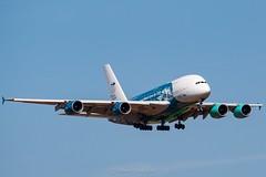 Is comming! (dearwalrus) Tags: canon 70d aeroport aeropuerto airport airbus a380 hi fly 9hmip son sant joan palma mallorca majorca