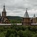 Entrada da vila Korsunovo
