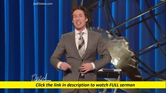 Joel Osteen — God Cross His Arms (Sermons.love) Tags: sermons joel osteen ministries lakewood church god christianity religion faith jesus christ