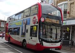 Paignton (Andrew Stopford) Tags: yn67yjr scania n250ud adl enviro400 mmc stagecoach paignton