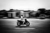 lonely rider (d26b73) Tags: hanoi hànội vietnam vn blackwhite streetphoto bw noiretblanc panning fujifilm