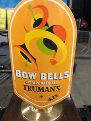 Truman's Bow Bells at GBBF Olympia, London - August 2018 (Pub Car Park Ninja) Tags: gbbf london olympia 2018 august greatbritishbeerfestival camra uk england beer beers ales ale bier biers bitter lager budvar trumans mosaic