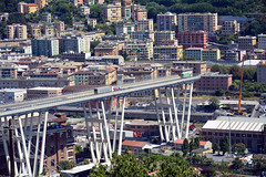 Ponte Morandi - 3 (Maurizio Boi) Tags: ponte bridge morandi crollo collaps disgrazia genova genoa italy autostrada a10
