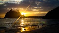 Nusa Penida Sunset (SuperG82) Tags: indonesia bali beach island silhouette flare lensflare nusapenida nusa penida