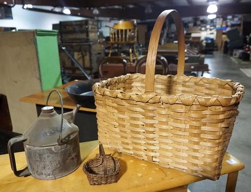 Miniature Splint Oak Basket ($156.80)
