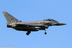 EF-2000, C.16-36/14-08, Spanje (Alfred Koning) Tags: c16421408 ef2000 ef2000typhoon epkspoznańkrzesiny exerciseoefening locatie spanje tigermeet2018 vliegtuigen