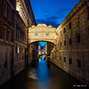 A must place in Venice - Ponte dei Sospiri (Magda Banach) Tags: bridgeofsighs canon canoneos5dmarkiv italy pontedeisospiri wenecja włochy architecture blue bluesky bridge buildings city colors night old outdoor outside sky venice view venezia veneto it