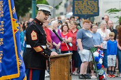 USMC Guest Speaker (kevnkc2) Tags: stdntsdoncooper lightroom pennsylvania spring nikon d610 chambersburg franklin county memorialday parade sigma 70200mm28 sigmaapo70200mmex