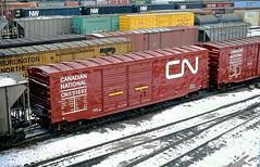CN 551692 (Chuck Zeiler) Tags: cn 551692 railroad railway boxcar freight car cicero train box chuckzeiler chz rib