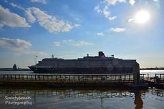 Queen Victoria Cruise ship (Sportybeach Photography (Jonnywalker)) Tags: liverpool merseyside sea queenvictoria cruiseship queenvictoriacruiseship river rivermersey liverpoolcruiseterminal wirral cunard