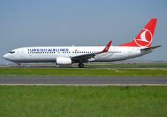"TC-JVP, Boeing 737-8F2(WL), 60019-5883, Turkish Airlines, (Türk Hava Yollari A.O.), ""Esenyurt"", CDG/LFPG 2018-04-21, taxiway Bravo-Loop. (alaindurandpatrick) Tags: tcjvp 600195883 737 737nextgen 738 737800 boeing boeing737 boeing737800 boeing737nextgen jetliners airliners tk thy turkish türkhavayollari turkishairlines airlines cdg lfpg parisroissycdg airports aviationphotography"