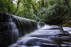 River Don - Gren Moor (Chris Melladay) Tags: canon eos750d southyorkshire landscape river water longexposure trees waterfall