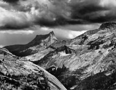 Cathedral Rock, Tuolumne - Yosemite (Cimbaso) Tags: xtol kodak 4x5 large format analog film bw blackandwhite canham tmax400